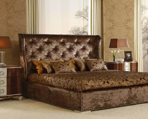 Dormitorio clasico Megara marron
