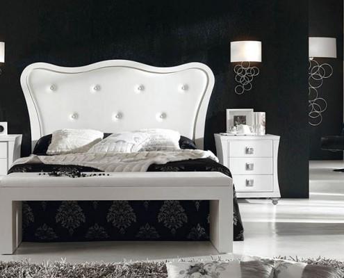Dormitorio matrimonio neoclasico Kaethe