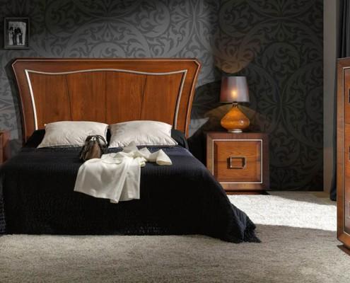 Dormitorio matrimonio neoclasico Kalika