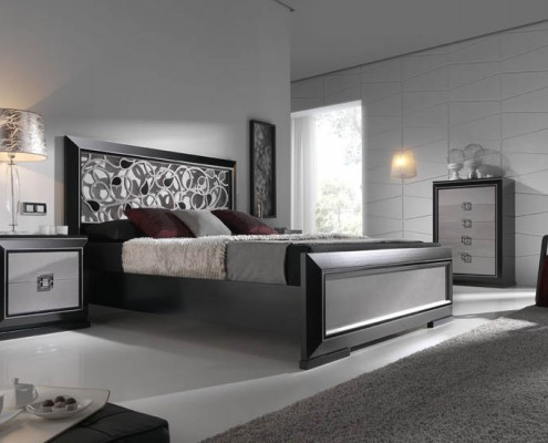 Dormitorio matrimonio neoclasico Lilah