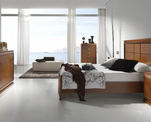 Dormitorio matrimonio neoclasico Loto