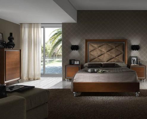 Dormitorio matrimonio neoclasico Nike