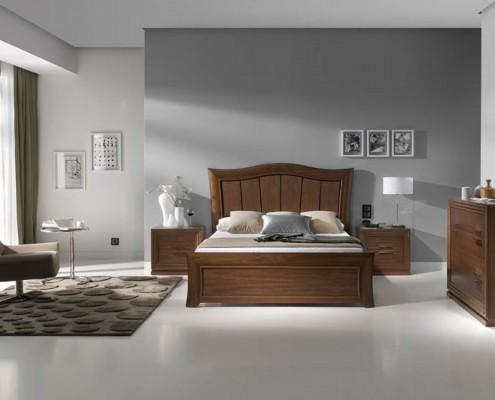 Dormitorio matrimonio neoclasico Odell