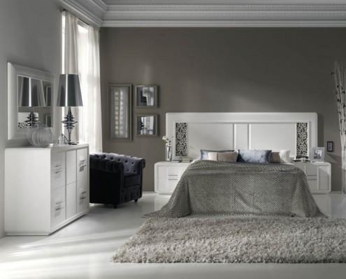 Dormitorio matrimonio neoclasico Odysseus