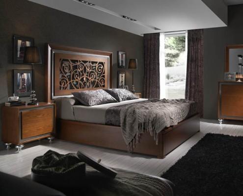 Dormitorio matrimonio neoclasico Phyllis