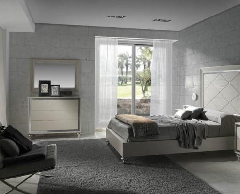 Dormitorio matrimonio neoclasico Pyrena