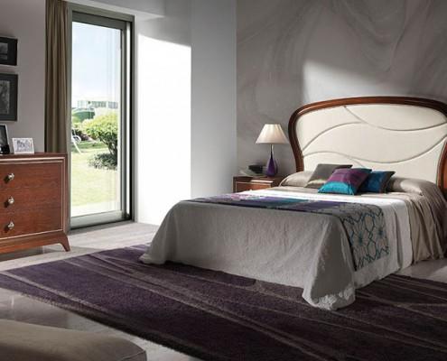 Dormitorio matrimonio neoclasico Redanthe