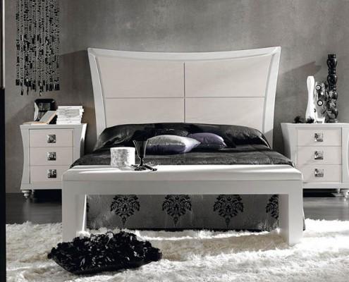 Dormitorio matrimonio neoclasico Rena