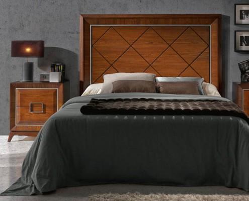 Dormitorio matrimonio neoclasico Rizpah