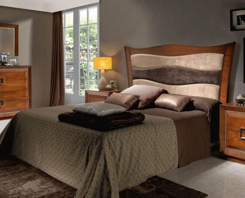 Dormitorio matrimonio neoclasico Tekla