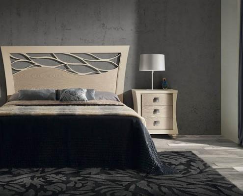 Dormitorio matrimonio neoclasico Thelma