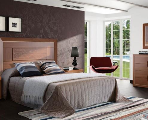 Dormitorio matrimonio neoclasico Thera