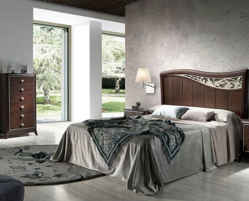 Dormitorio matrimonio neoclasico Timandra