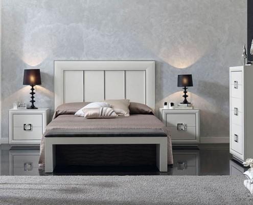 Dormitorio matrimonio neoclasico Urian