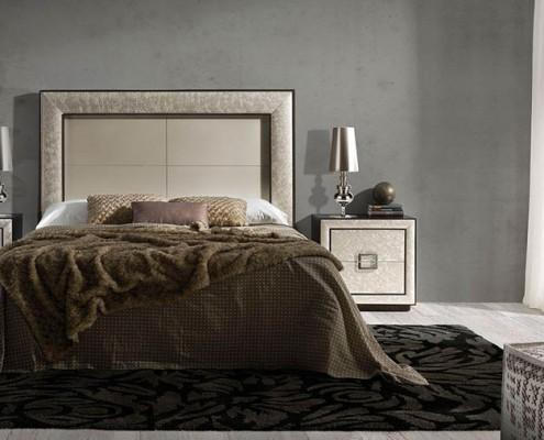 Dormitorio matrimonio neoclasico Vasiliki