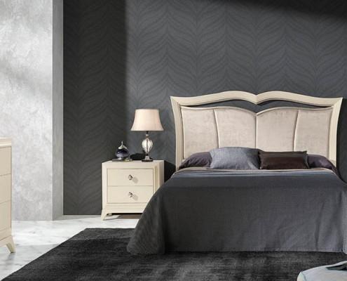 Dormitorio matrimonio neoclasico Xylina