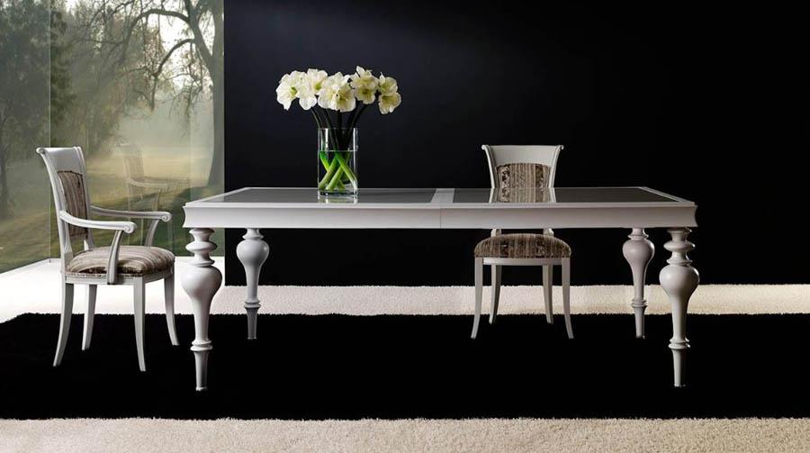 Mesas de comedor clasicas mesa clsica de madera mesa - Mesa comedor clasica ...