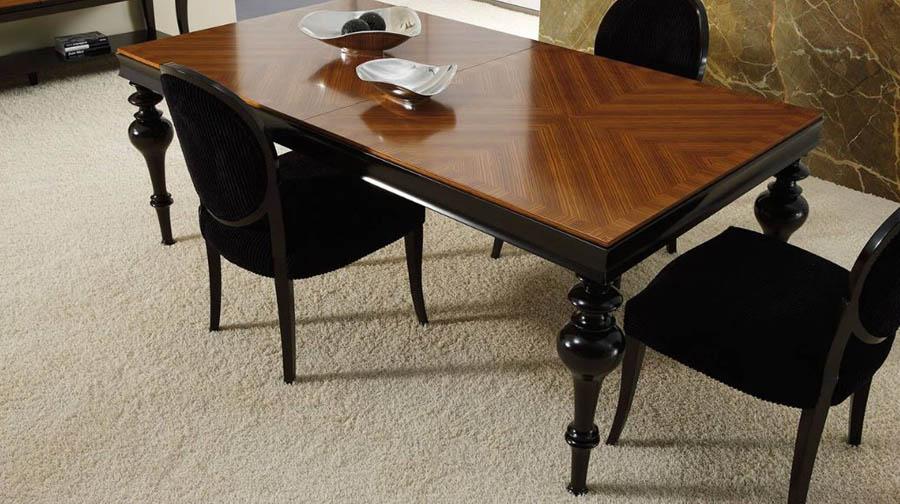 Mesas de comedor clasicas mesa clsica de madera mesa for Mesa comedor clasica