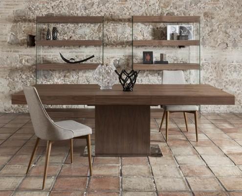 Mesa comedor moderna Roma - 2
