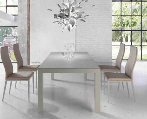 Mesa comedor moderna Vigo porcelanico - 2
