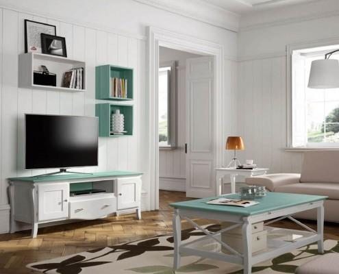 Mueble tv colonial Austen