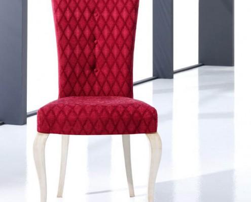 Silla clasica tapizada Perseo