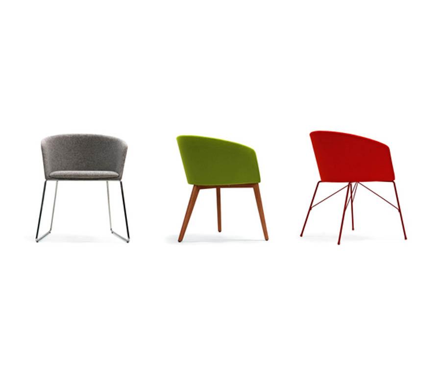 Sillas de comedor modernas free sillas comedor base metal for Sillas comedor modernas polipiel