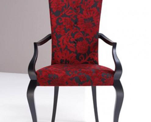 Sillon clasico tapizado Pegaso