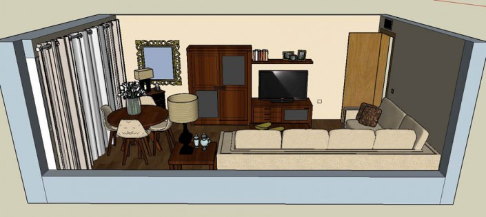 Proyecto salon 3D ES-3